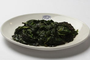 Sauteed Spinach with Butter or Olive Oil