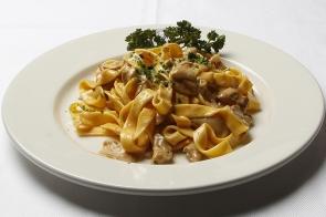 Tagliatelle with Porcini Mushrooms