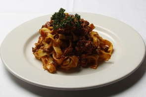 Tagliatelle with Bolognese Meat Sauce