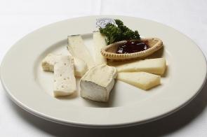 Italian Cheeses with Biffi's Mustard